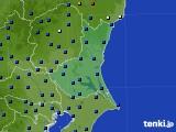 茨城県のアメダス実況(日照時間)(2020年06月18日)