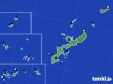 沖縄県のアメダス実況(風向・風速)(2020年06月18日)
