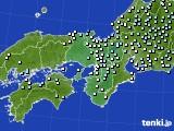 2020年06月19日の近畿地方のアメダス(降水量)