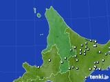 2020年06月19日の道北のアメダス(降水量)