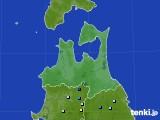 2020年06月19日の青森県のアメダス(降水量)