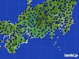 東海地方のアメダス実況(日照時間)(2020年06月19日)