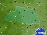 埼玉県のアメダス実況(気温)(2020年06月19日)