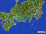 東海地方のアメダス実況(日照時間)(2020年06月20日)