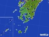 鹿児島県のアメダス実況(日照時間)(2020年06月20日)
