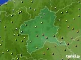 2020年06月20日の群馬県のアメダス(気温)