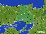 2020年06月20日の兵庫県のアメダス(気温)