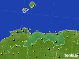 2020年06月20日の鳥取県のアメダス(気温)