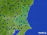 2020年06月21日の茨城県のアメダス(日照時間)