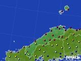 2020年06月21日の島根県のアメダス(日照時間)