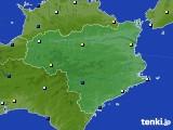 徳島県のアメダス実況(日照時間)(2020年06月21日)