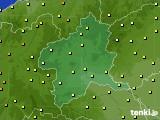 群馬県のアメダス実況(気温)(2020年06月21日)