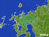 2020年06月21日の佐賀県のアメダス(気温)