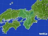 近畿地方のアメダス実況(降水量)(2020年06月22日)