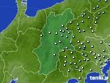 2020年06月22日の長野県のアメダス(降水量)