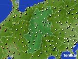 2020年06月22日の長野県のアメダス(気温)