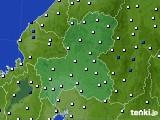 2020年06月22日の岐阜県のアメダス(風向・風速)
