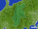 長野県のアメダス実況(降水量)(2020年06月23日)