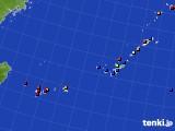 2020年06月23日の沖縄地方のアメダス(日照時間)