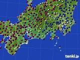 東海地方のアメダス実況(日照時間)(2020年06月23日)