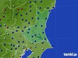 2020年06月23日の茨城県のアメダス(日照時間)