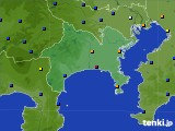 2020年06月23日の神奈川県のアメダス(日照時間)