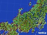 2020年06月24日の北陸地方のアメダス(日照時間)