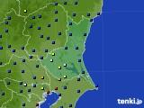 2020年06月24日の茨城県のアメダス(日照時間)