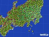アメダス実況(気温)(2020年06月24日)