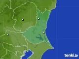 茨城県のアメダス実況(降水量)(2020年06月25日)