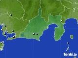 静岡県のアメダス実況(降水量)(2020年06月25日)