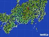 東海地方のアメダス実況(日照時間)(2020年06月25日)
