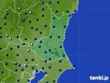 2020年06月25日の茨城県のアメダス(日照時間)