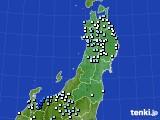 東北地方のアメダス実況(降水量)(2020年06月26日)