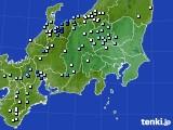 関東・甲信地方のアメダス実況(降水量)(2020年06月26日)