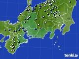2020年06月26日の東海地方のアメダス(降水量)