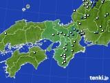 近畿地方のアメダス実況(降水量)(2020年06月26日)
