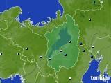 滋賀県のアメダス実況(降水量)(2020年06月26日)