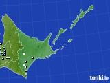 道東のアメダス実況(降水量)(2020年06月26日)