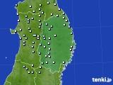 2020年06月26日の岩手県のアメダス(降水量)