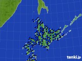 北海道地方のアメダス実況(日照時間)(2020年06月26日)