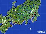 関東・甲信地方のアメダス実況(日照時間)(2020年06月26日)