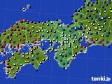 近畿地方のアメダス実況(日照時間)(2020年06月26日)