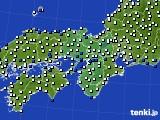 近畿地方のアメダス実況(風向・風速)(2020年06月26日)