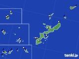 沖縄県のアメダス実況(風向・風速)(2020年06月26日)