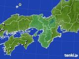 2020年06月27日の近畿地方のアメダス(降水量)