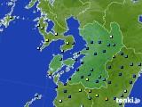 2020年06月27日の熊本県のアメダス(降水量)