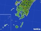 鹿児島県のアメダス実況(降水量)(2020年06月27日)
