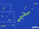 沖縄県のアメダス実況(風向・風速)(2020年06月27日)