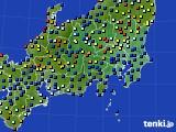 関東・甲信地方のアメダス実況(日照時間)(2020年06月28日)